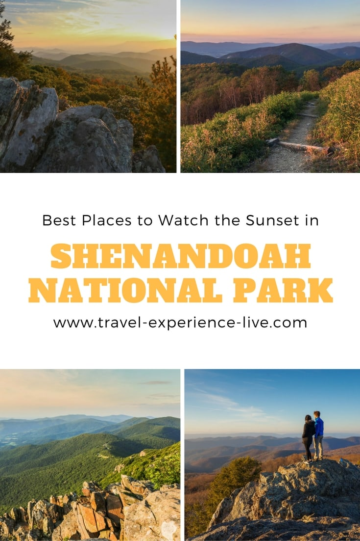 Best Places to Watch the Sunset in Shenandoah National Park, Virginia
