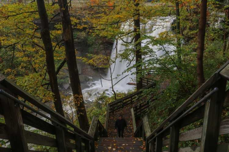 Brandywine Falls Boardwalk, Cuyahoga Valley National Park