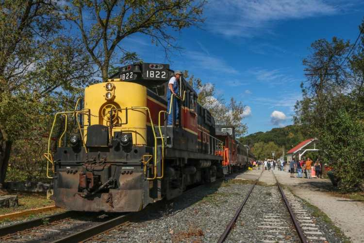 Cuyahoga Valley Scenic Railroad - Peninsula Station, Ohio