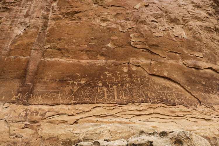 Petroglyphs, Mesa Verde National Park