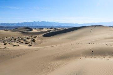 Mesquite Flat Sand Dunes, Death Valley, California
