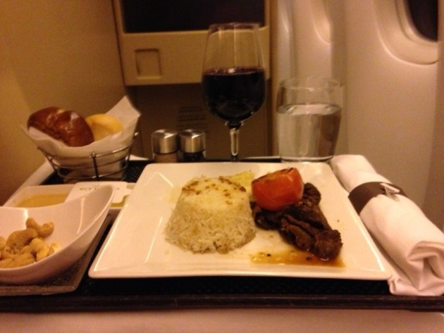 Business Class Flug Manilla with Etihad