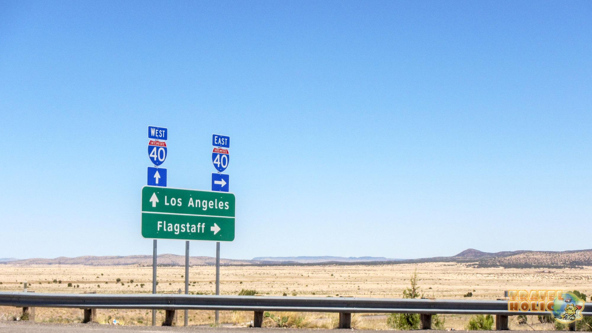 Panneau Los Angeles