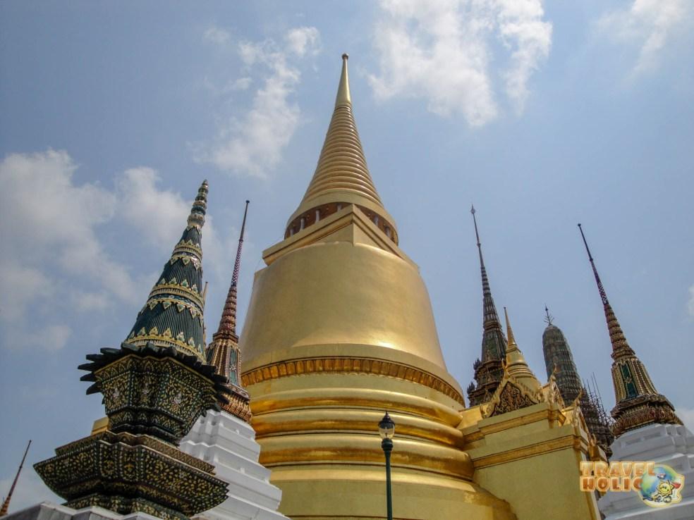 Palais royal du roi de Thaïlande à Bangkok