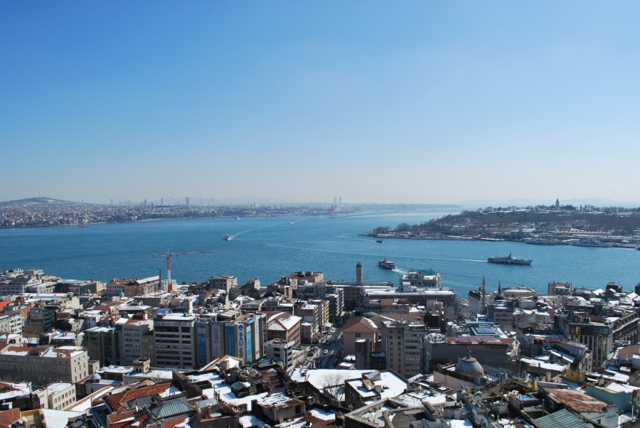 Vue depuis la tour de Galata © Travel-me-Happy.com