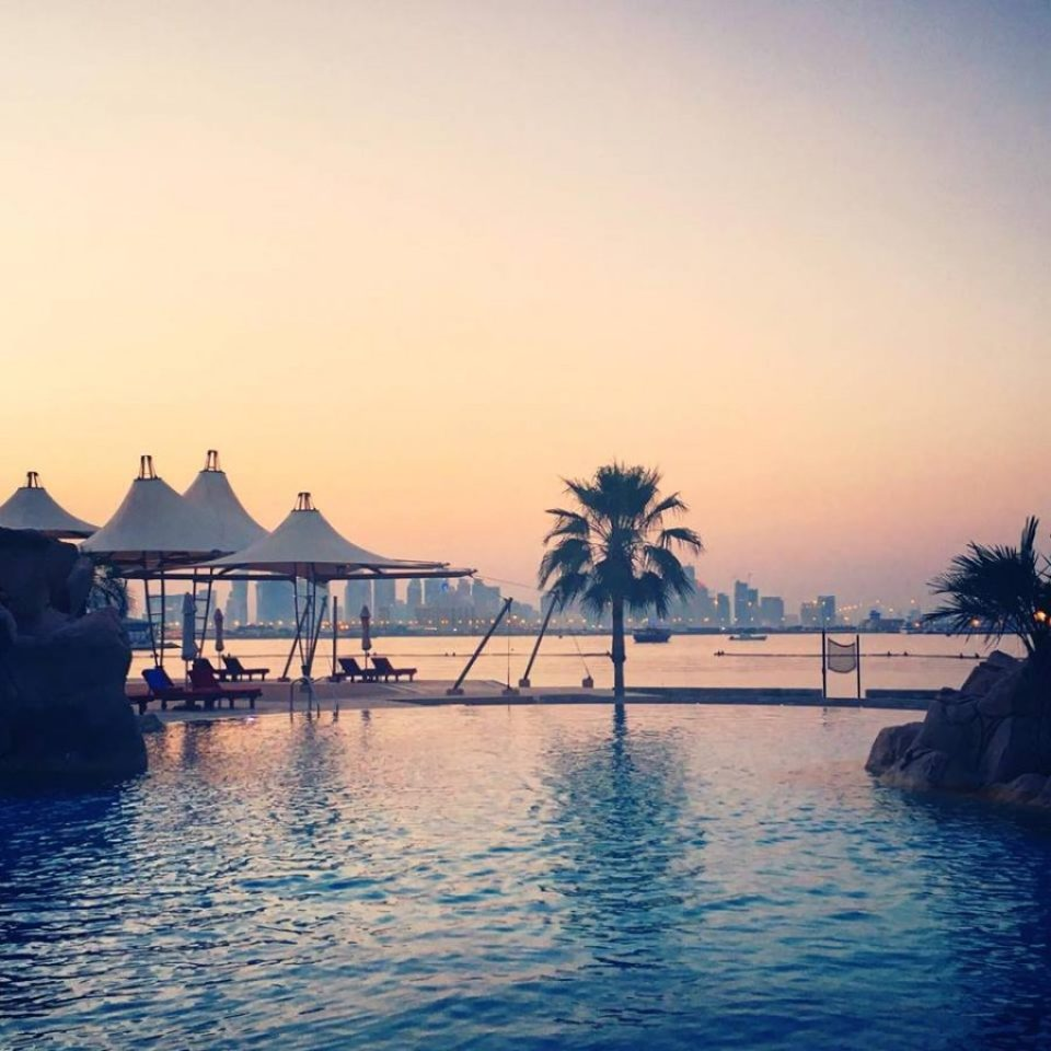 sunset sharq doha