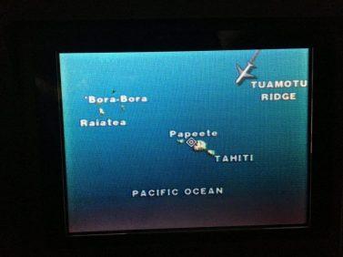 arrivée à Tahiti