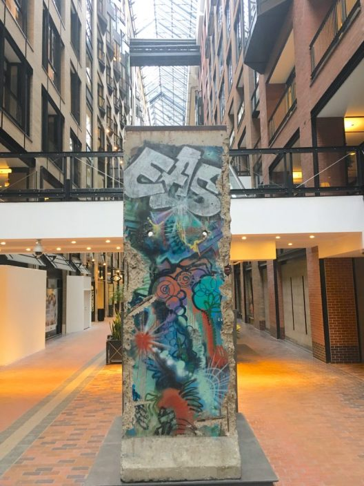 mur berlin Montreal