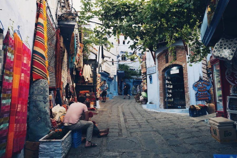 ruelle-Chefchaouen-Maroc