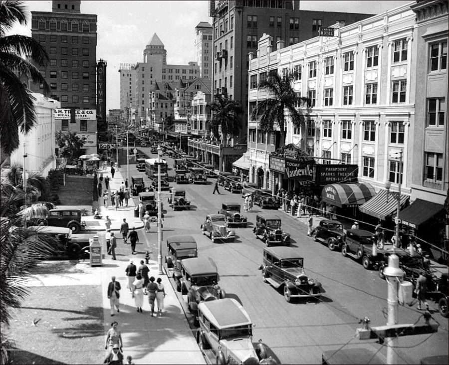 ancienne-photo-miami-flagler-street