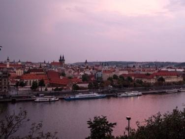 prague-republique-tcheque-sunset