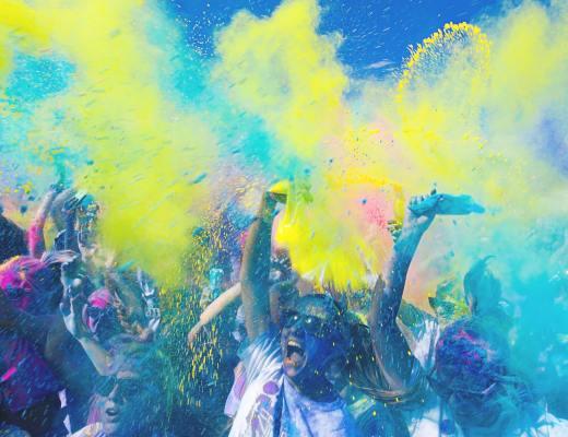 fête couleurs