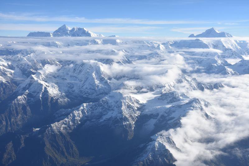 meilleure station de ski France ou étranger : Himalaya dans les nuages
