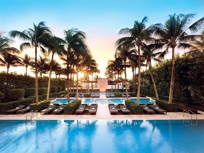 the setai miami beach piscina