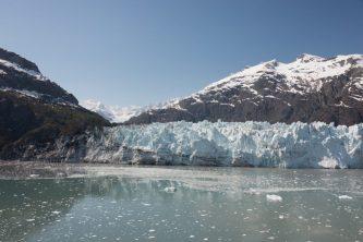 Cruising Margerie Glacier in Alaska