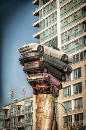 Interesting art in Vancouver