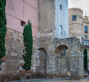 Gothic walls by the Cathedral