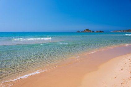 Chia beach, Sardinia