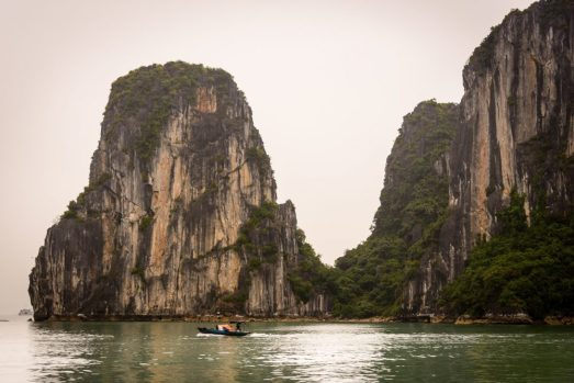 Limestone mountains Ha Long Bay - a fan favorite and certainly one of our top cruise excursions