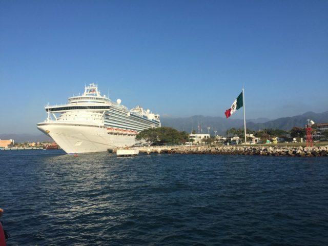 Cruise Ship in Mexico