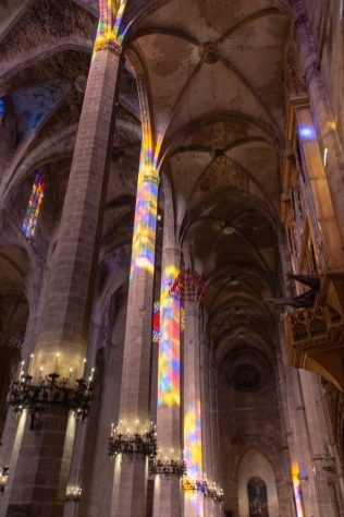 Colours inside the Cathedral