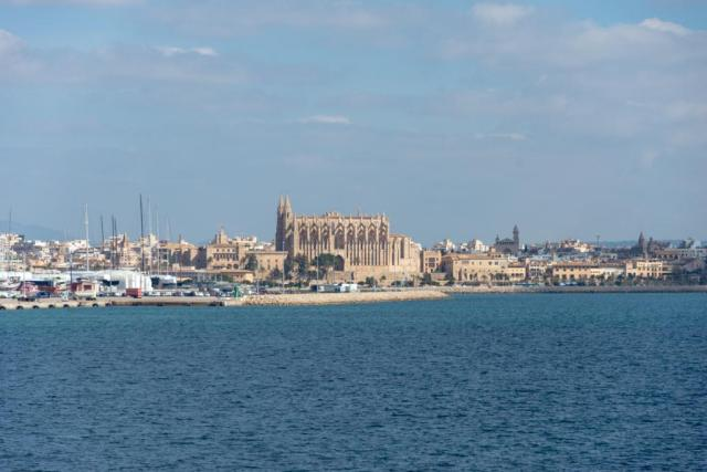 Palma de Majorca - Cheapest time to cruise the Mediterranean is in the Spring.