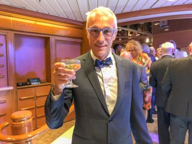 Formal Night on a cruise sea day