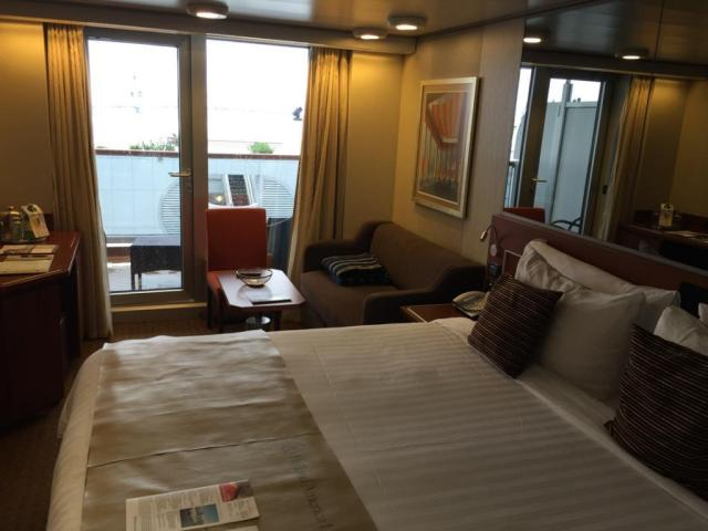 Costs Onboard a cruise Ship - This is a Balcony Cruise Cabin