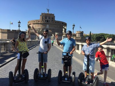Consider a Segway Tour of Rome - One of the best ways to see Rome Fast