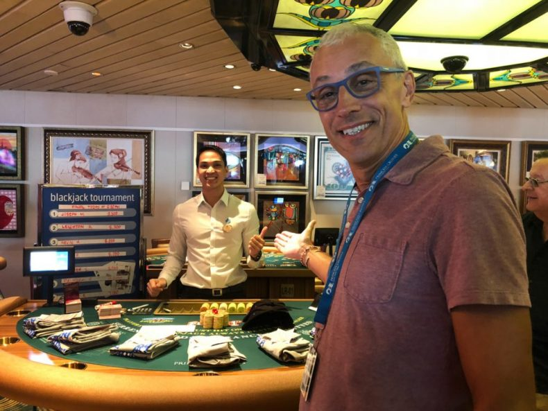 Casino on the cruise ship - don't spend all your money on a sea day!