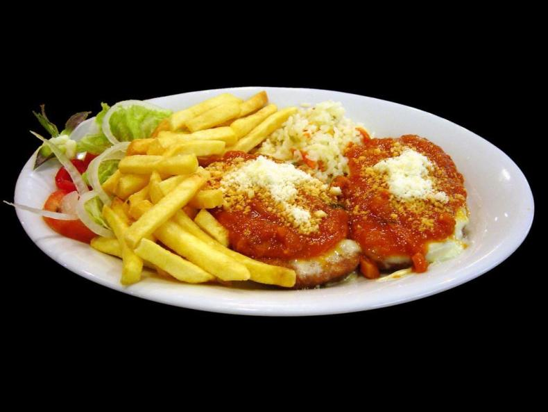 Veal Parmesan : Not Real Italian Food