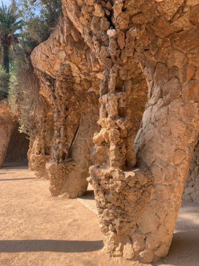 Statues at Park Güell