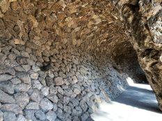 The tunnel at Park Güell