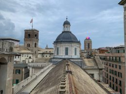 San Lorenzo Cathedral, the roof