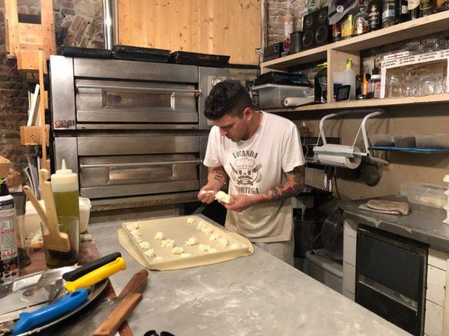 Making the Famous Genova Focaccia