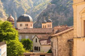 The domes in Kotor