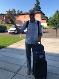 Ready to leave Italy