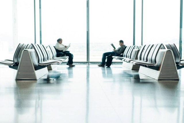 Travel Tip: Arrive early - Relax at the Airport