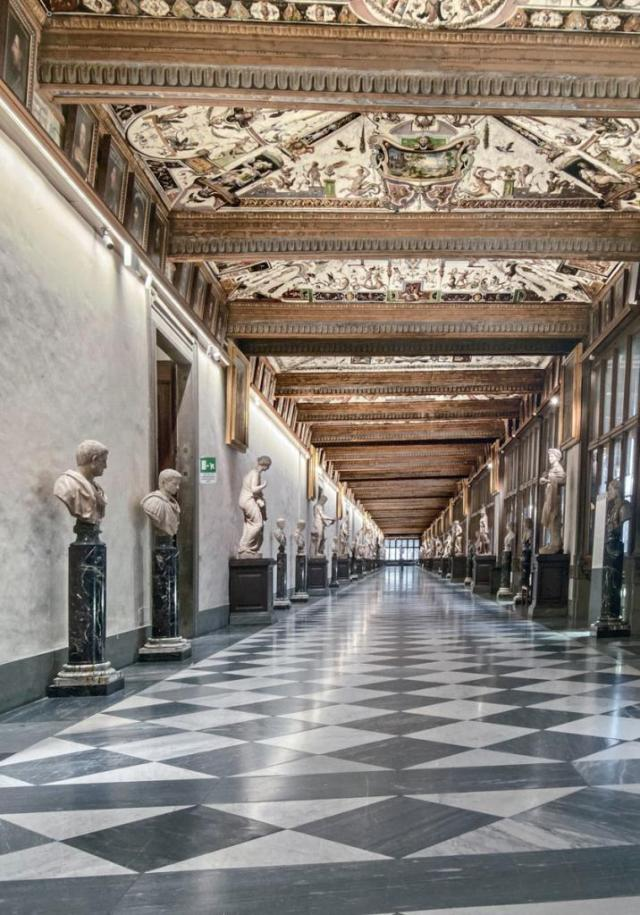 Uffizi Gallery Florence - You must See this when you're here!