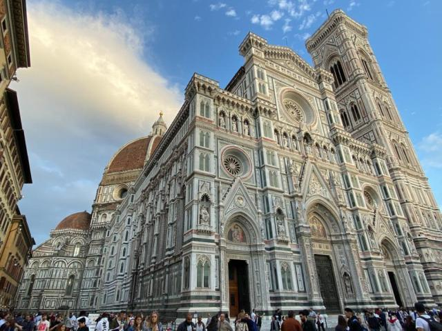 The Duomo, Florence - a Must see and do go inside!