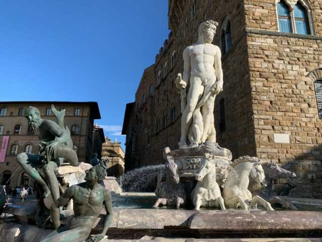 Florence, the Fountain of Neptune