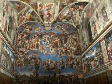 Michelangelo Last Judgement in the Sistine Chapel