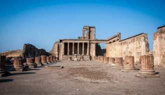 The Main Forum in Pompeii