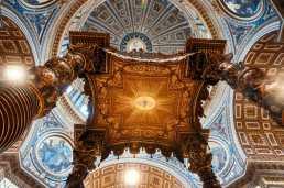 Saint Peter's Dome inside