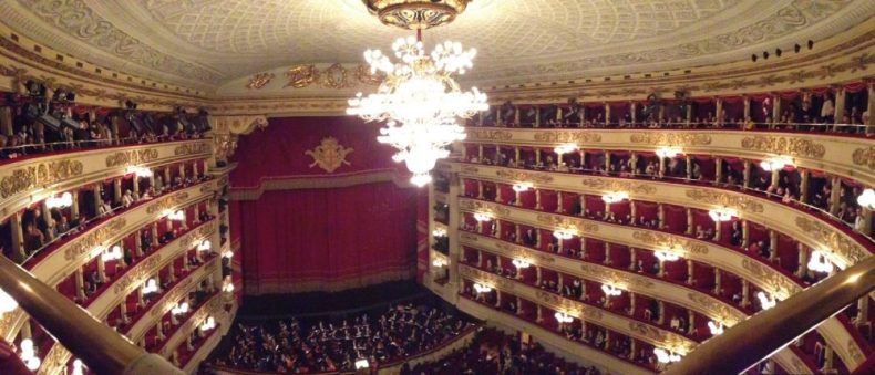 La Scala Theatre in Milan
