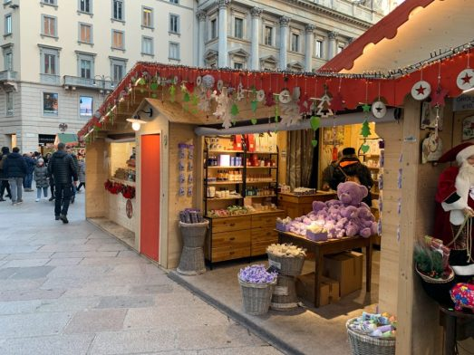 Christmas Market in Milan