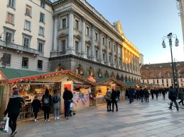 Christmas Market by the Duomo in Milan