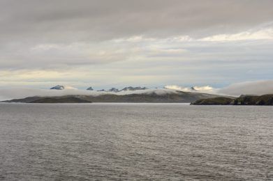 The Andes at Cape Horn - Leaving South America on our Cruise to Antarctica