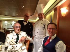 Maitre'd and Executive Chef aboard the Coral Princess