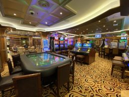 Casino Aboard the Coral Princess - On our cruise to Antarctica